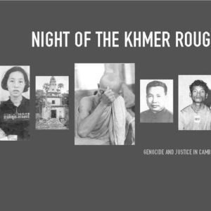cover for book Night of the Khmer Rouge: Genocide and Justice in Cambodia