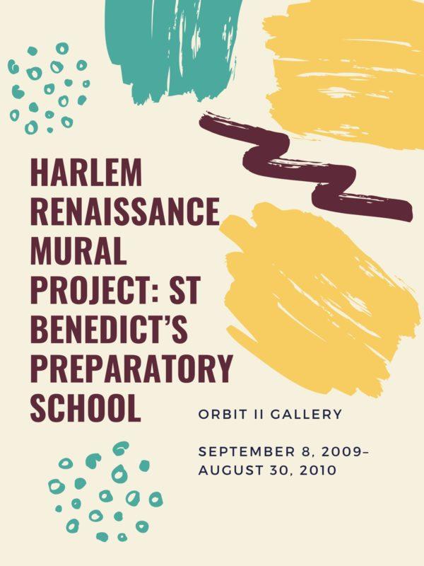 Harlem Renaissance Mural Project Flyer