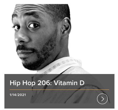 Hip Hop Vitamin D